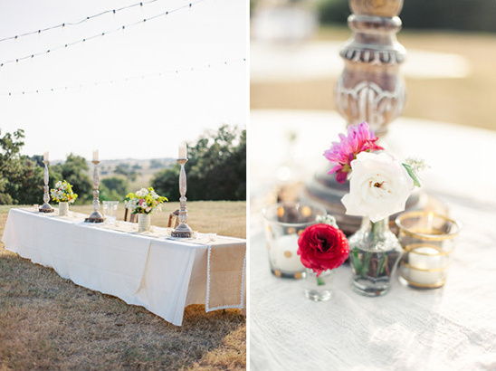 rustic outdoor wedding @weddingchicks