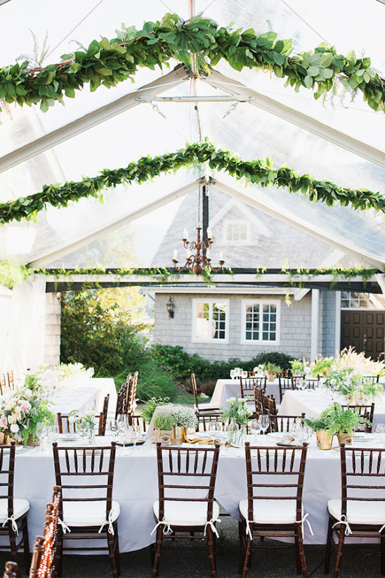 tent wedding reception @weddingchicks