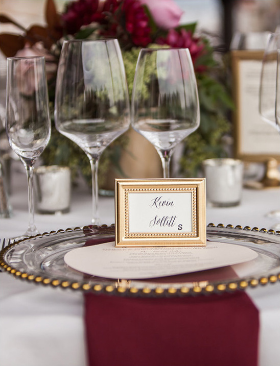 seating assignment @weddingchicks