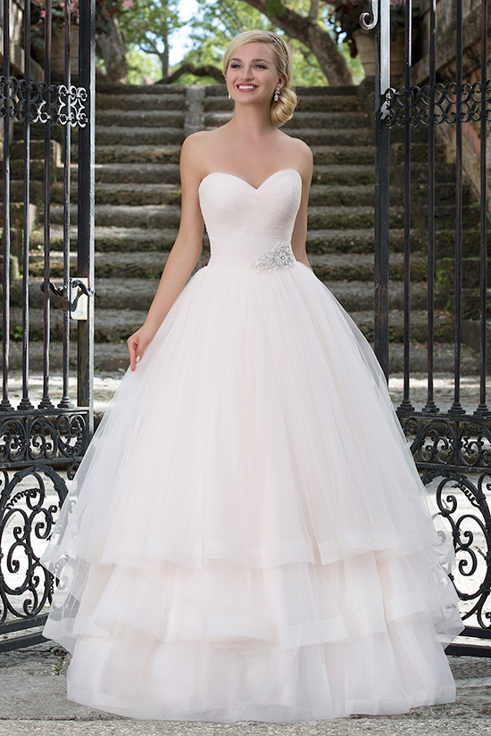serenity pink ball gown