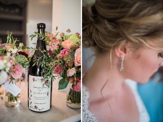 wedding wine and accessories