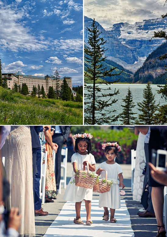 Canadian wedding venue with beautifulf view