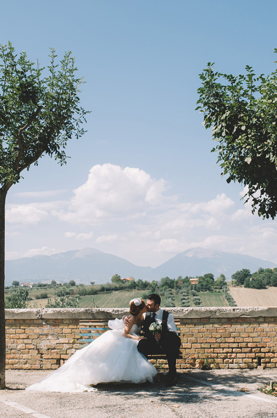 Romantic wedding photography in Italy