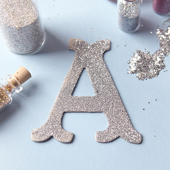 How to use glitter at your wedding