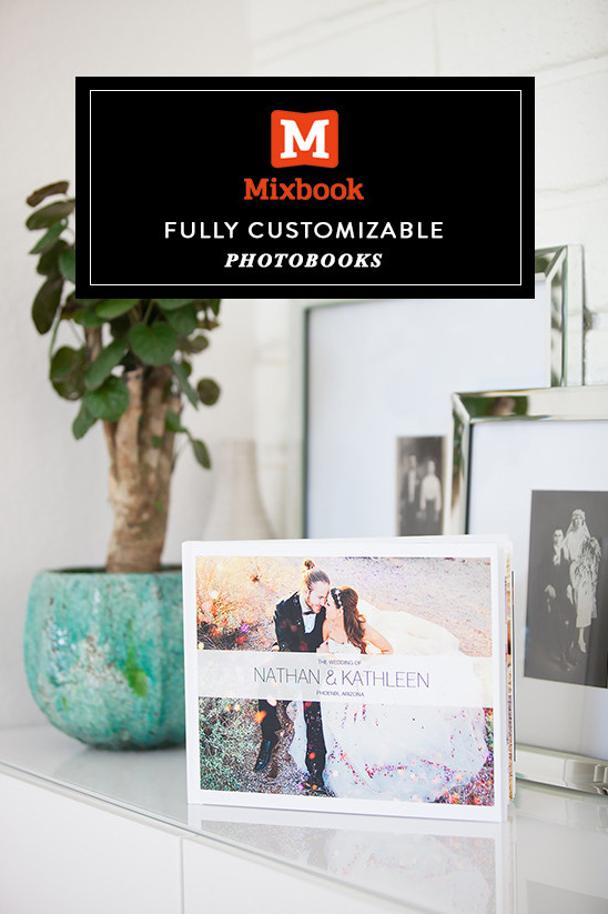 Fully Customizable Photobooks From Mixbook