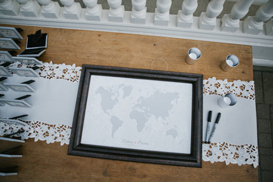 world map guestbook