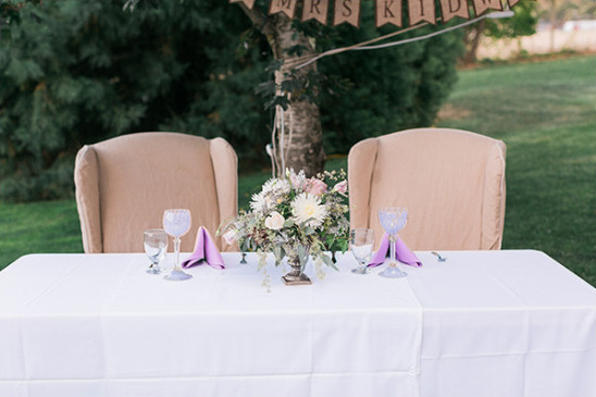 sweetheart table inspiration