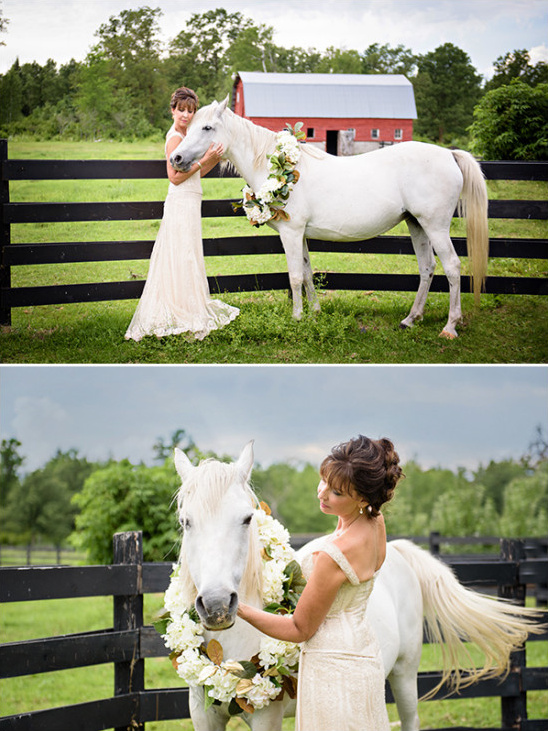 glamour shot with your horse