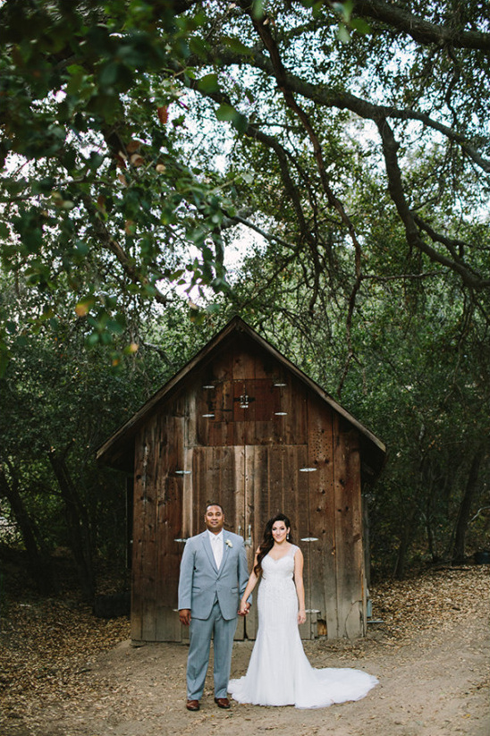 mint rustic wedding