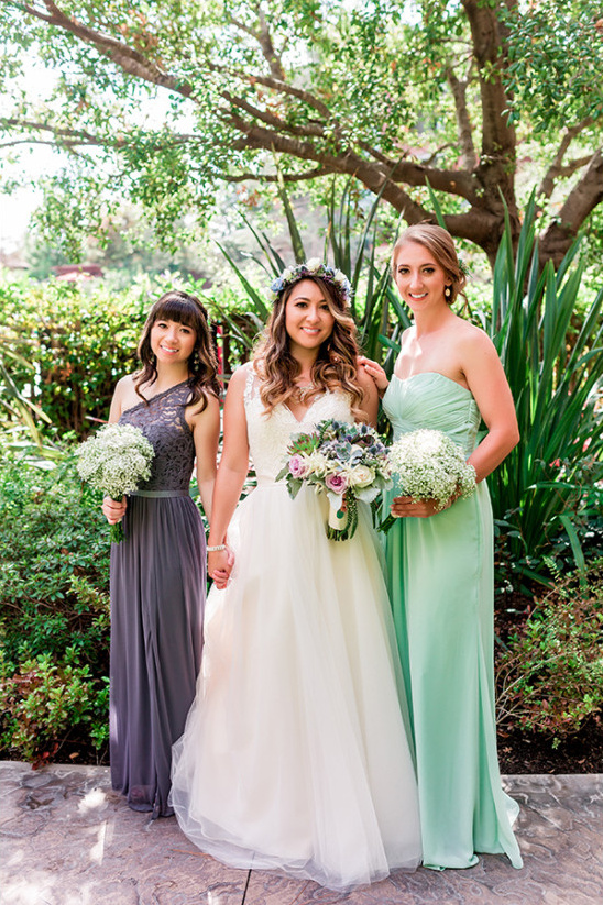 Small bridal party style ideas