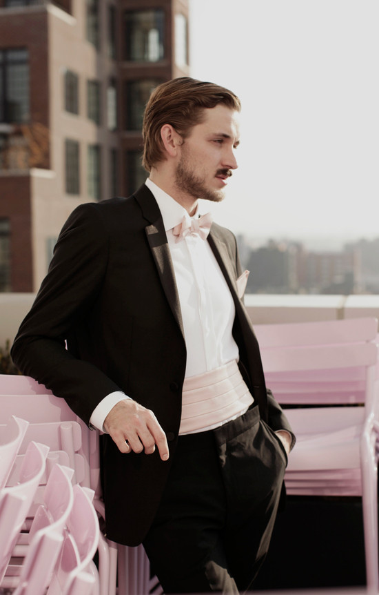 pink tuxedo from Generation Tux