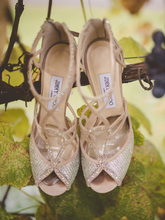 Jimmy Choo Wedding pumps