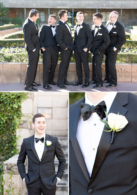 Groomsmen suits and bowties