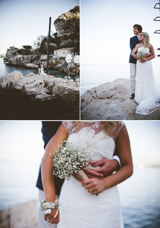Seaside wedding photo ideas
