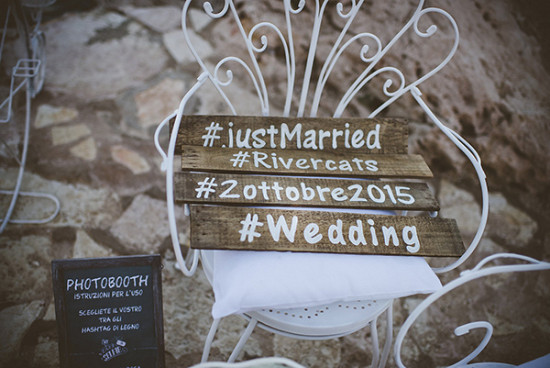 Rustic photo booth signs