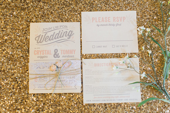 blush and grey wedding stationery
