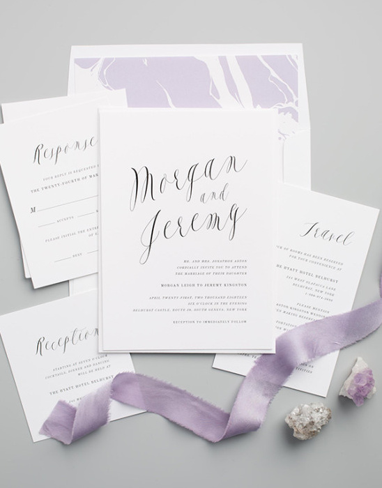 Fancy Wedding Invitations from Shine