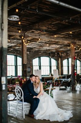 Glam Industrial Wedding Inspiration