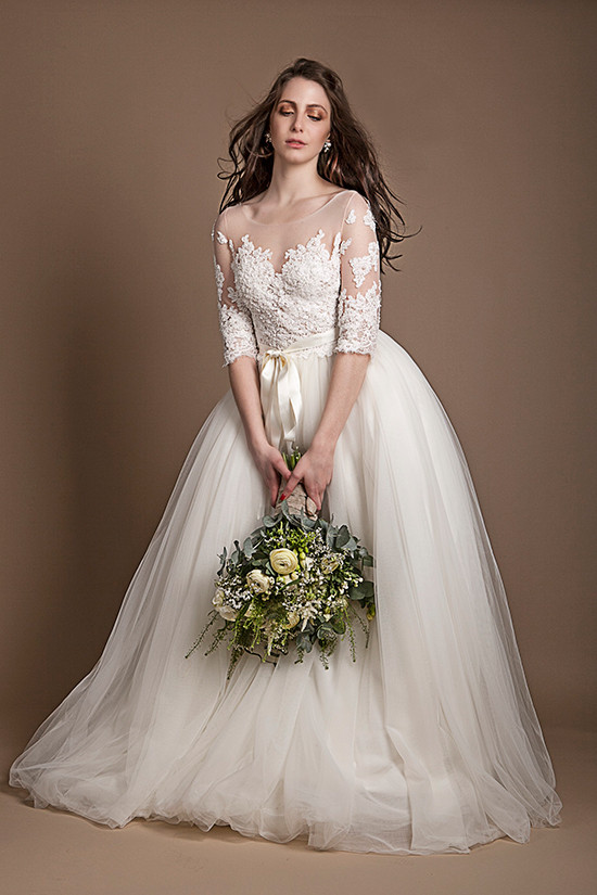 Ela Siromascenko Couture Wedding Gowns