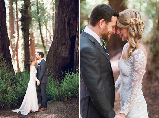 Woodsy wedding photo ideas