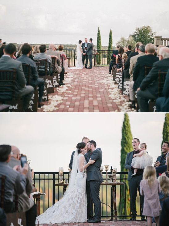 Winery ceremony details
