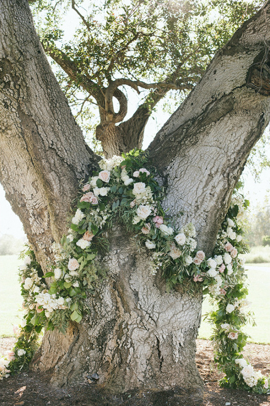 Tree ceremony arch idea