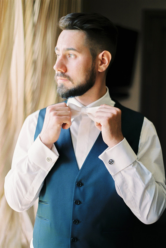 formal groom look