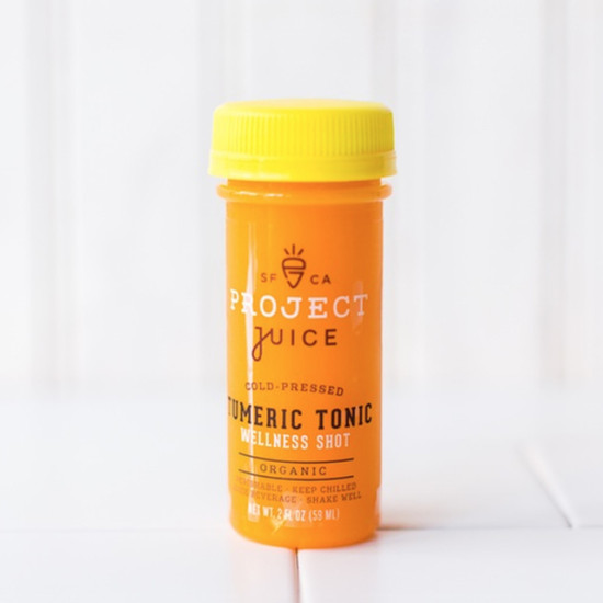 Tumeric Tonic from Project Juice