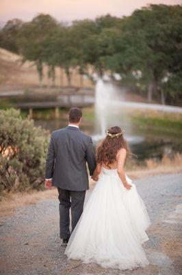 454f121254b Gallery - Natural Green and Grey Wedding in California