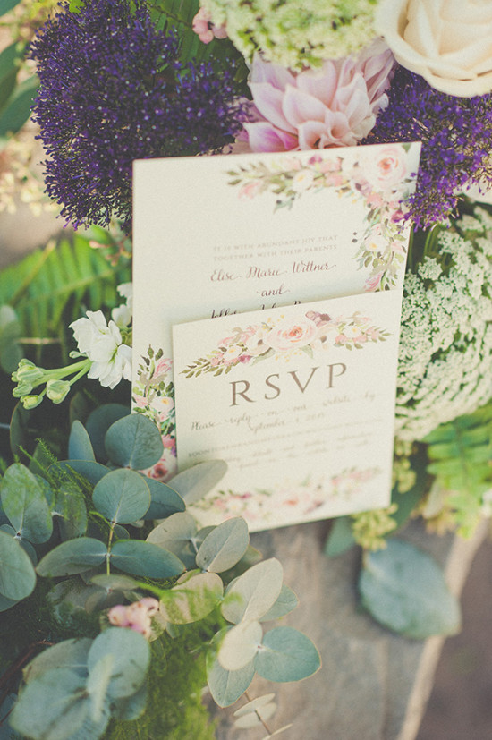 e72d2a834c4 Natural Green and Grey Wedding in California