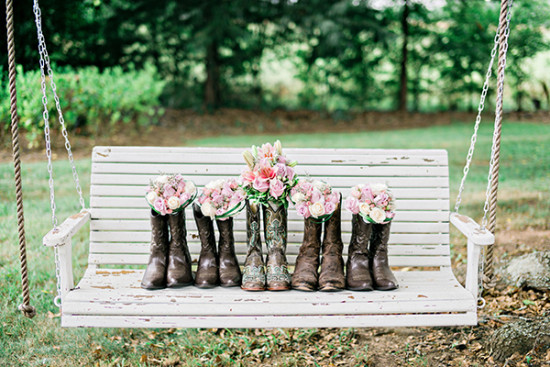 boots and bouquets