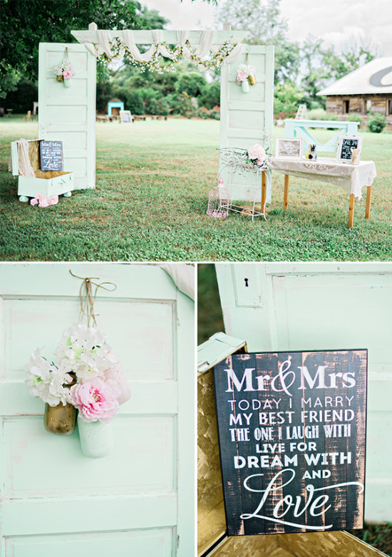 wedding welcome decor
