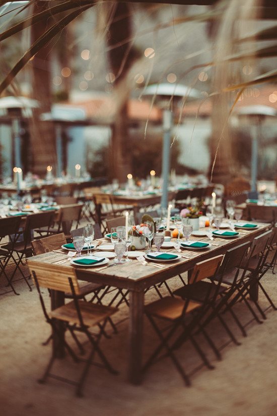 rustic dessert themed reception
