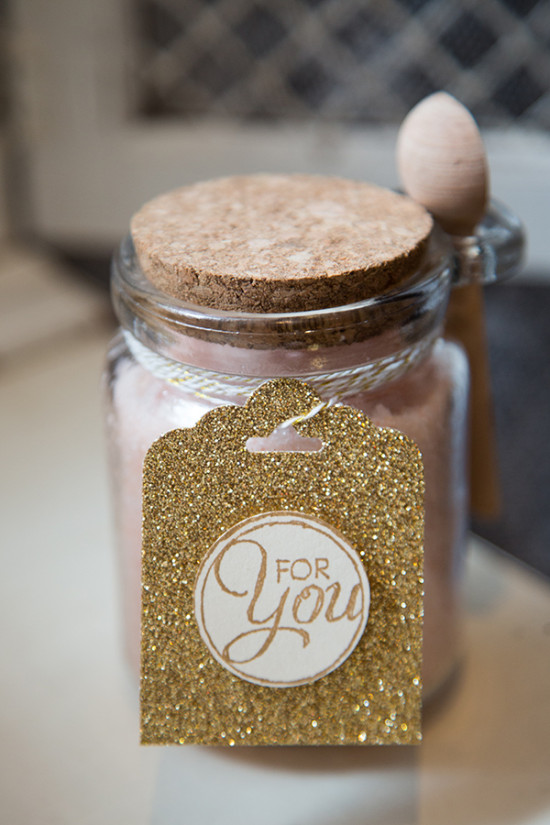 bath salt favor idea
