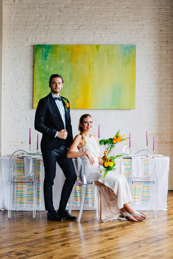 modern watercolor wedding ideas