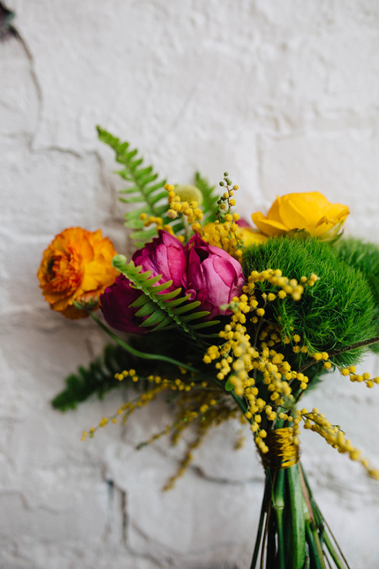 pinkandyellowandorangebouquet