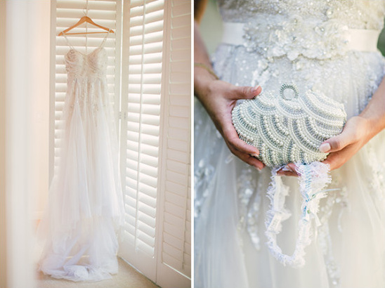 Bridal dress and details
