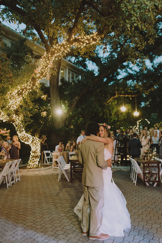 Romantic reception lighting ideas