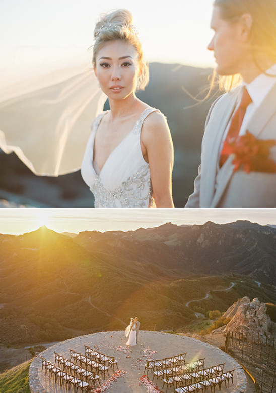 wedding on the edge of the world