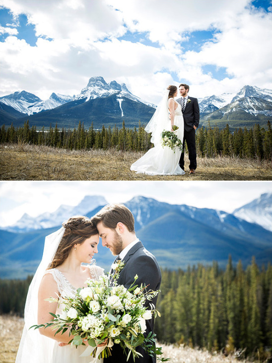 Canadian Rockies wedding