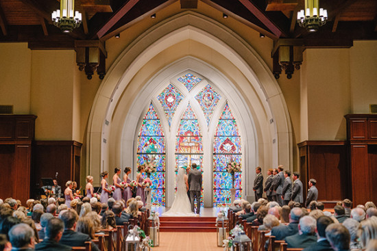 chapel wedding ceremony