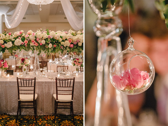 gorgeous wedding floral decor