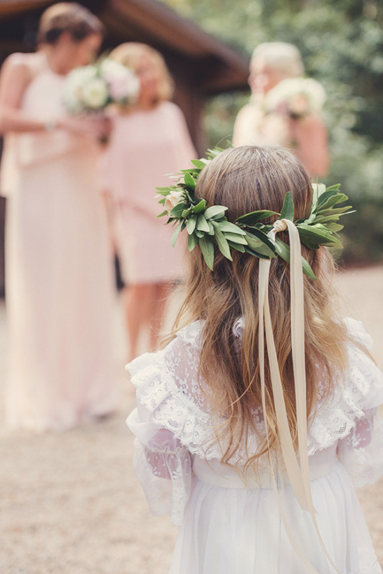 flower crown for your flower girl