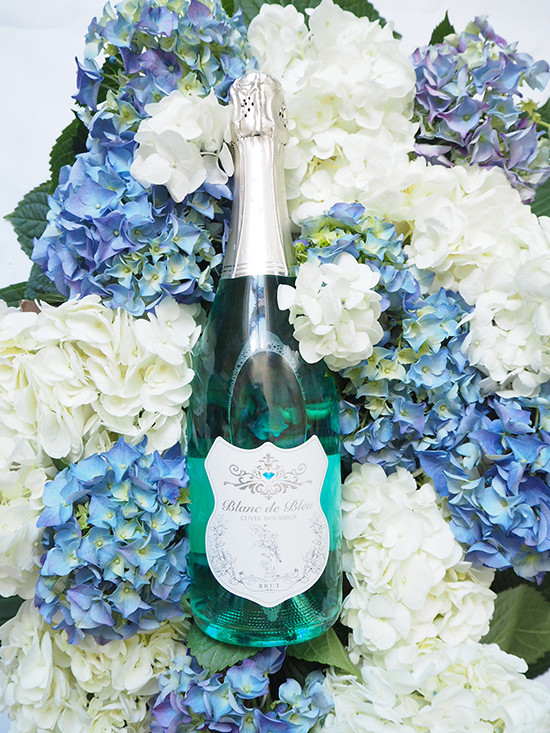 Planning Your Wedding Toast With Blanc de Bleu