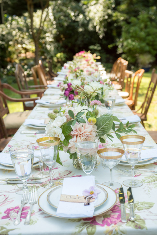 Magical Garden Party Wedding