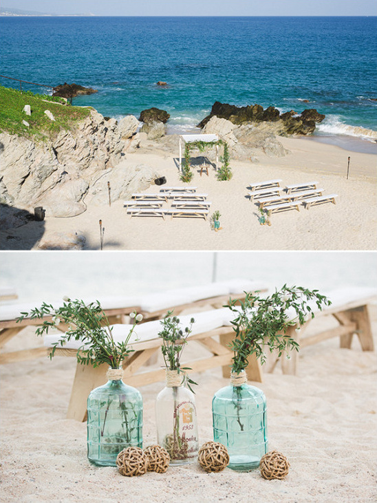 Los Cabos beach ceremony