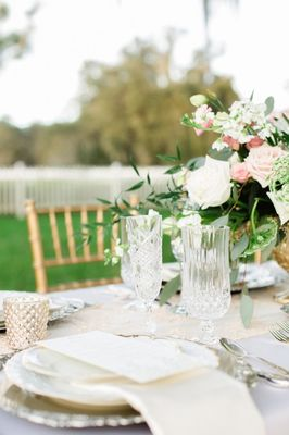 Peach Equestrian Wedding Ideas