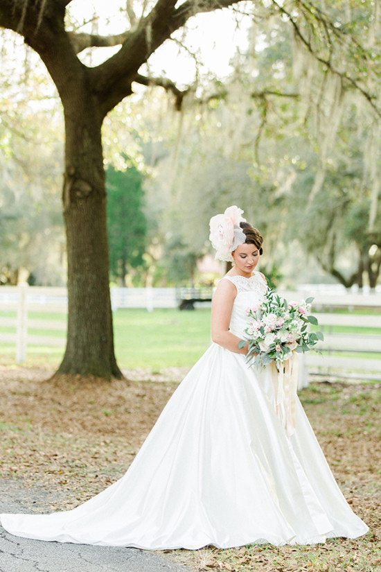 glamorous bridal style from Malindy Elene Couture for the Bride