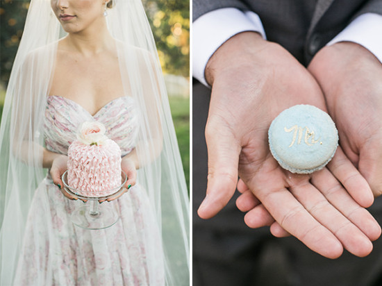 cute little wedding desserts