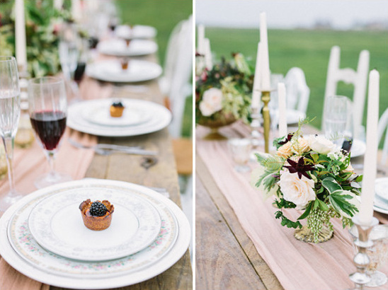 Table decor and details